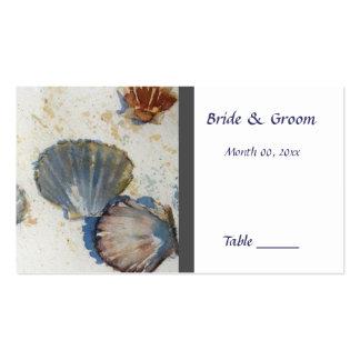 Beach Wedding Table Place Card Business Card