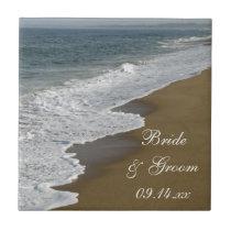Beach Wedding Tile