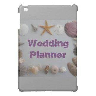 Beach Wedding/Wedding Planner iPad Mini Cases