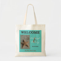 Beach Wedding Welcome Bags Starfish
