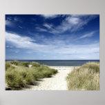 Beach, Welfleet MA Poster