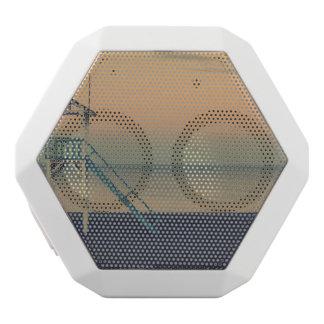 beach white bluetooth speaker