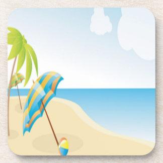 Beach Wishes Beverage Coaster