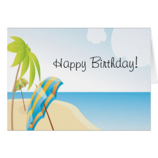 Beach Wishes Card