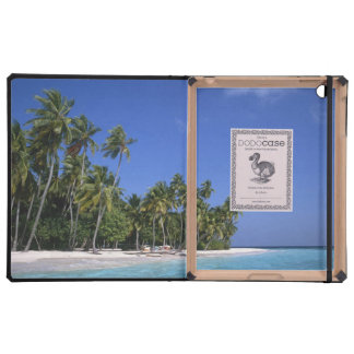 Beach with palm trees, Maldives Cases For iPad