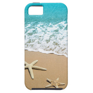 Beach With Starfish on Sand iPhone SE/5/5s Case