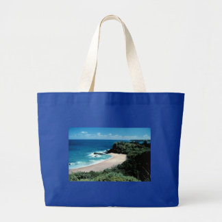beach_with_trees tote bags