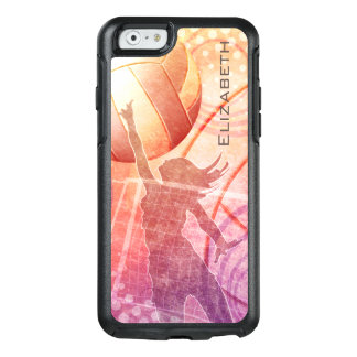 Beach Women's Volleyball sunset OtterBox iPhone 6/6s Case