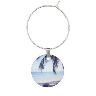 Beach Wine Glass Charms