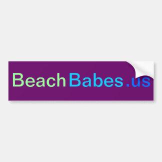 BeachBabes.us - bumper sticker