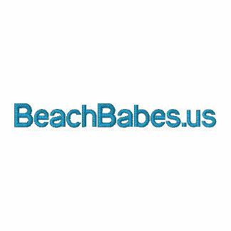 BeachBabes.us - zippered women's hoodie