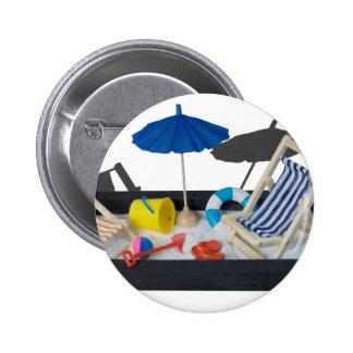 BeachChairsUmbrellaBucketPail011815.png Pinback Button