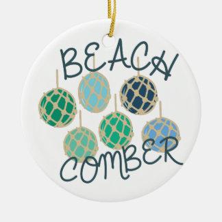 Beachcomber Ceramic Ornament