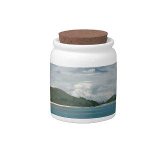 Beachcomber Island, Fiji Candy Jar