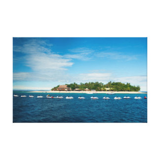 Beachcomber Island, Fiji Canvas Print