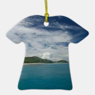 Beachcomber Island, Fiji Christmas Tree Ornament