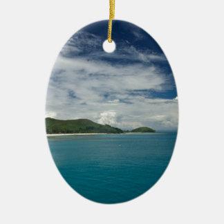 Beachcomber Island, Fiji Christmas Ornament