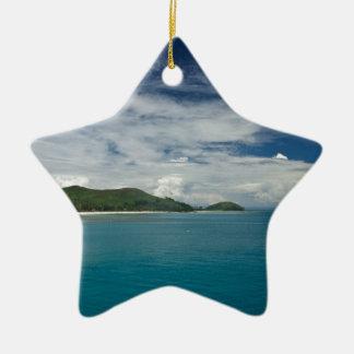 Beachcomber Island, Fiji Christmas Ornaments