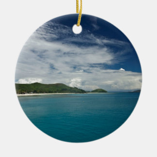 Beachcomber Island, Fiji Christmas Tree Ornaments