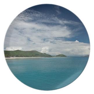 Beachcomber Island, Fiji Plate
