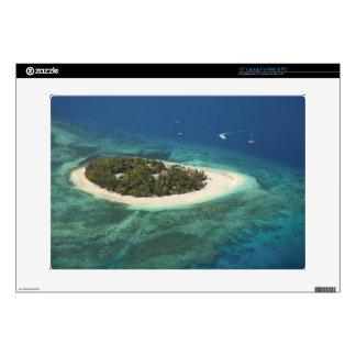 "Beachcomber Island Resort, Fiji 15"" Laptop Skins"