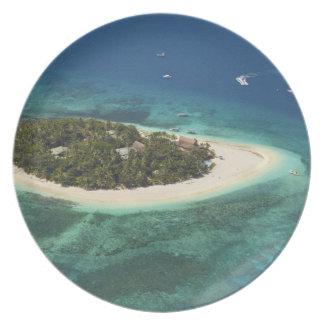Beachcomber Island Resort, Fiji Melamine Plate