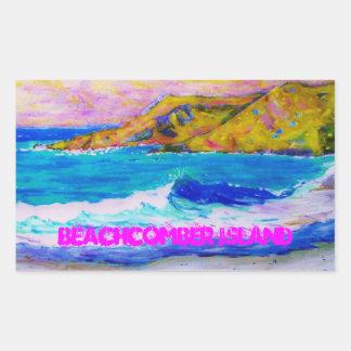 Beachcomber Island Sticker