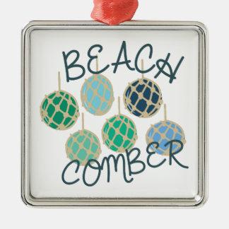 Beachcomber Metal Ornament
