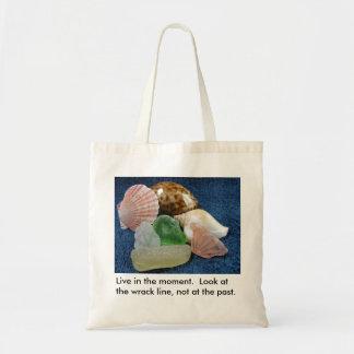 Beachcomber's Bag - seaglass and shells!