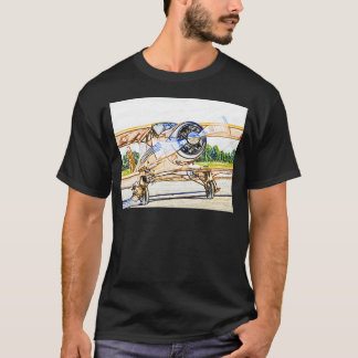 Beachcraft Staggerwing Vintage aircraft T-Shirt