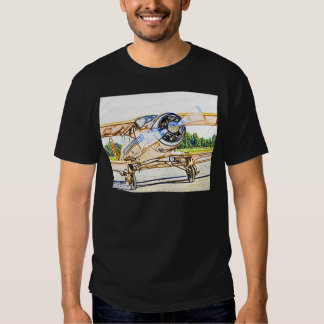 Beachcraft Staggerwing Vintage aircraft Tee Shirt