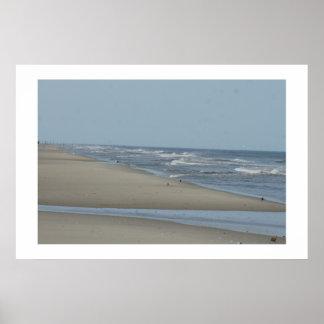Beachead At Corolla Poster