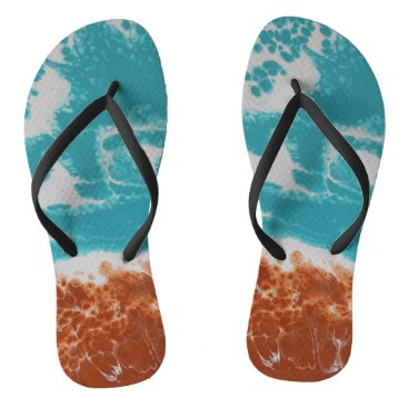 Beach Themed Beached Bro Flip Flops