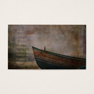 Beached Dinghy Business Card