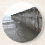 Beached Dock Drink Coaster