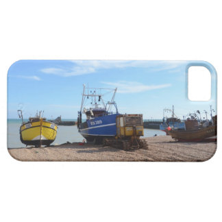 Beached Fishing Boats iPhone 5 Cover