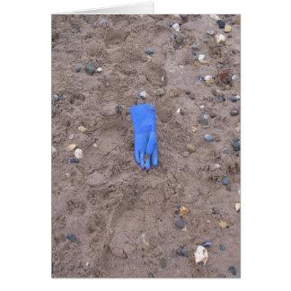 Beached Glove Card