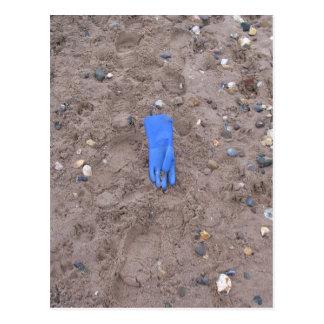 Beached Glove Postcard