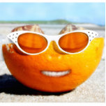 Beached Orange Photo Sculptures