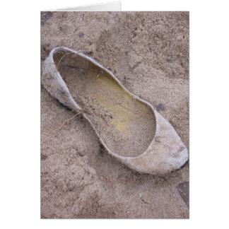 Beached Shoe Card