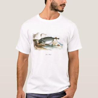 Beached Sperm Whale Whaling scene #10 T-Shirt