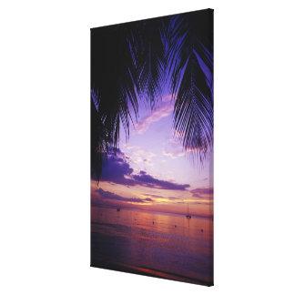 Beaches at Negril, Jamaica 3 Canvas Print