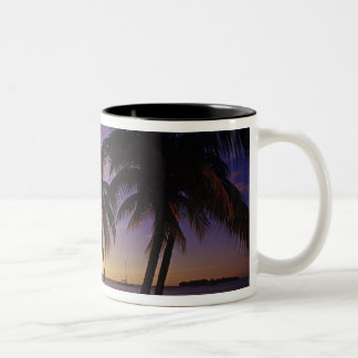 Beaches at Negril, Jamaica 3 Two-Tone Coffee Mug