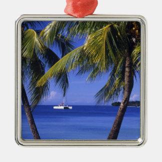 Beaches at Negril, Jamaica Metal Ornament