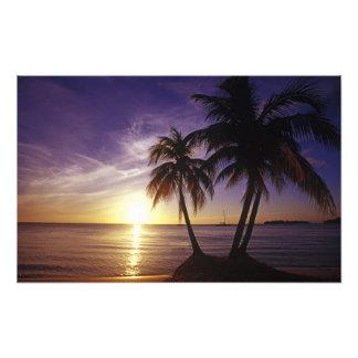 Beaches at Negril, Jamaica Photo Print