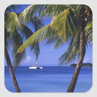 Beaches at Negril, Jamaica Sticker
