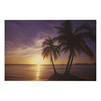 Beaches at Negril, Jamaica Wood Wall Decor