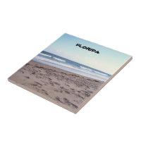 Beaches At The Ocean Ceramic Tile