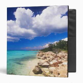 Beaches, Barahona, Dominican Republic, 2 Vinyl Binders
