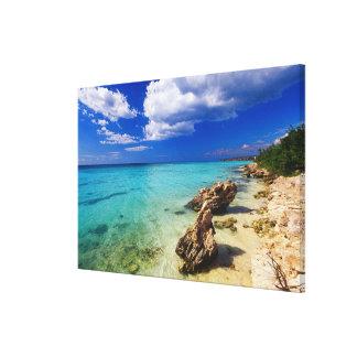 Beaches, Barahona, Dominican Republic, 2 Canvas Print